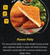ITC SPICY PANEER PATTY 1kg
